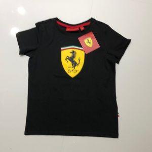 Boys Ferrari teeshirt